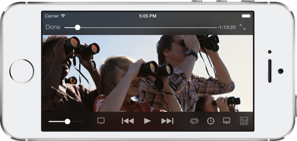 VLC for iOS, version 2.2