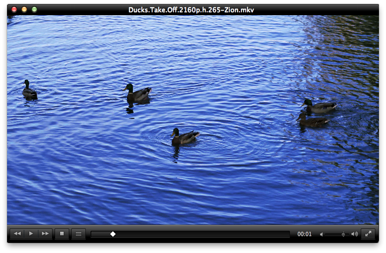 VLC media player for Mac OS X, versions 2.1.4 and 2.0.10